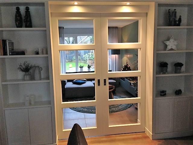 En Suite Deuren : René sleiderink kamer en suite deuren met kasten aan beide